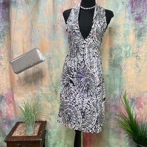 📌 Sexy DEEP V-Neckline Sparkling Dress